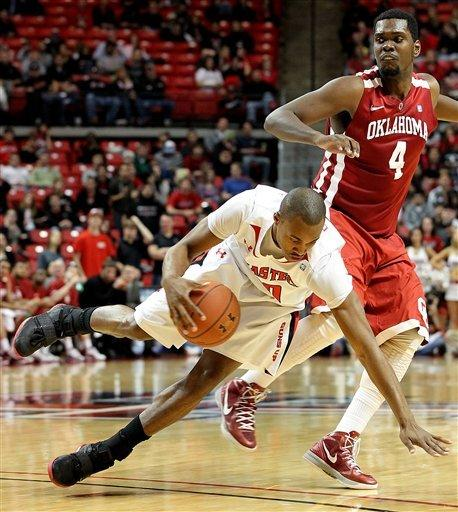 Texas Tech beats OU 65-47 to get 1st Big 12 win