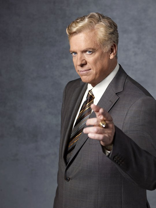 "Christopher McDonald stars as Tommy Jefferson in ""Harry's Law."""