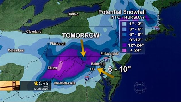 Winter storm: Where is it …