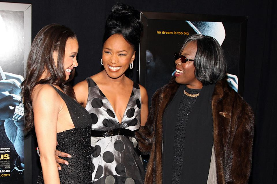 Notorious NY Premiere 2009 Antonique Smith Angela Bassett Voletta Wallace