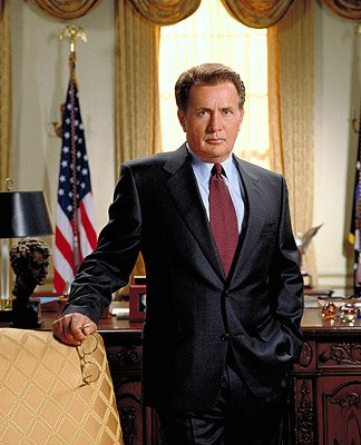 Martin Sheen as President Josiah Bartlet on NBC's &quot;The West Wing&quot; West Wing 