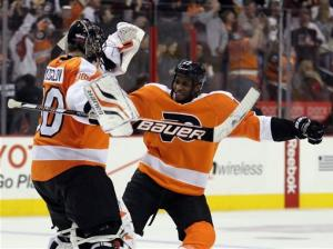 Fedotenko lifts Flyers over Capitals in OT