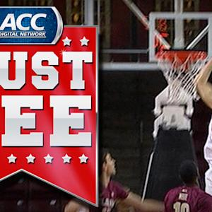 BC's Eddie Odio Throws Down Monstrous Dunk | ACC Must See Moment