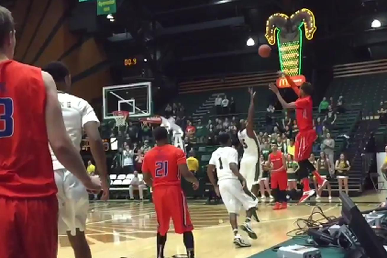 Boise State loses after referees use stopwatch to disallow buzzer-beater