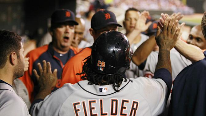Fielder fuels Porcello, Tigers to 4-0 win at Twins