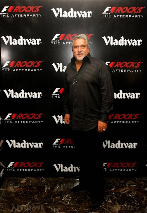 F1 Rocks in India with Vladivar - Metallica Concert and After Party