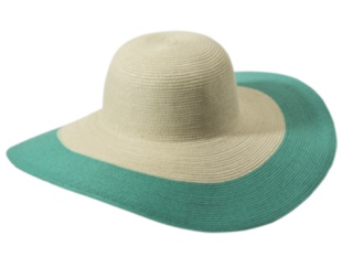 Colorblock Floppy Hat