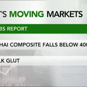 Three Things That Are Moving Today's Markets