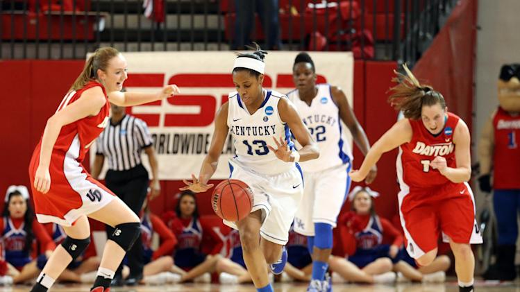 NCAA Womens Basketball: NCAA Tournament-Dayton vs Kentucky