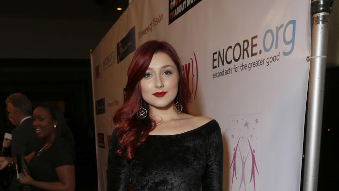 Anastasia Baranova attend A New Way of Life Reentry Project 14th Annual Fundraising Gala on Sunday December 9, 2012 in Los Angeles, California.  (Photo by Todd Williamson/Invision/AP Images)