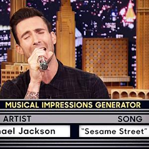 Adam Levine Nails Multiple Musical Impressions