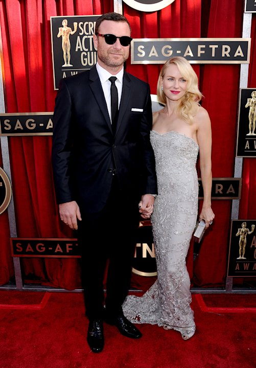 Liev Shreiber and Naomi Watts