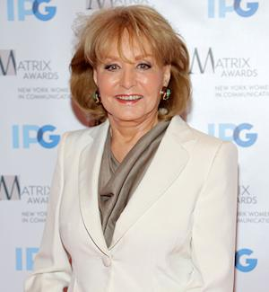 Barbara Walters to Retire in 2014