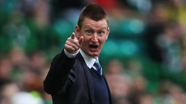 Steve Lomas' St Johnstone side are in the hunt for a Europa League spot