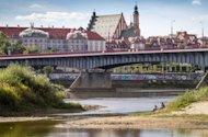 A picture shows the Vistula (Wisla) river in the center of Warsaw on September 9. With exorcism booming in Poland, Roman Catholic priests have joined forces with a publisher to launch what they claim is the world's first monthly magazine focused exclusively on chasing out the devil