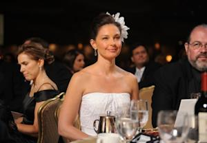 Ashley Judd looks serene at the 2010 White House Correspondents' Association Dinner in Washington, D.C. on May 1, 2010 -- Getty Images