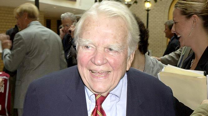 Andy Rooney News Emmys Symposium