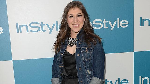 Mayim Bialik Previews Her Emmy Dress