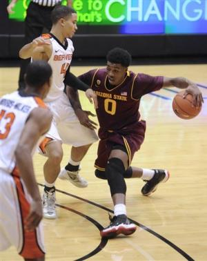 Arizona State defeats Oregon State 72-62