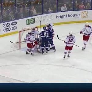 Henrik Lundqvist Save on Ryan Callahan (07:01/2nd)