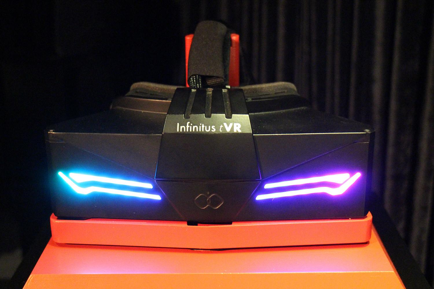 Infinitus puts the Rift and Vive to shame with its new, high-resolution Prime tVR headset