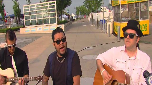 live music at gm river days