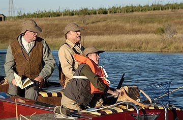 Michael Caine , Robert Duvall and Haley Joel Osment in New Line's Secondhand Lions