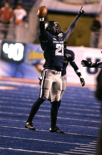 Utah State routs Toledo 41-15 in Idaho Potato Bowl