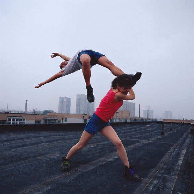 047 03 Love at the high place 1 jpg 102354 - Defying Gravity: Li Wei's Impossible Photography