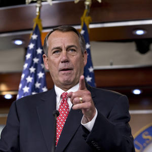 Boehner Takes on the Tea Party