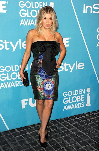 Fergie HFPA In Style Part …