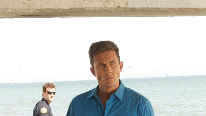 "Desmond Harrington stars as Joey Quinn in ""Dexter."""