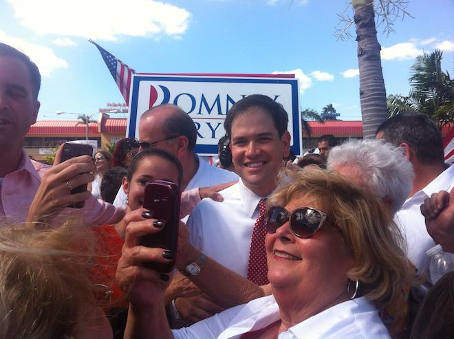 In South Florida, Republicans Turn Pro-Romney Intensity Up To An 11