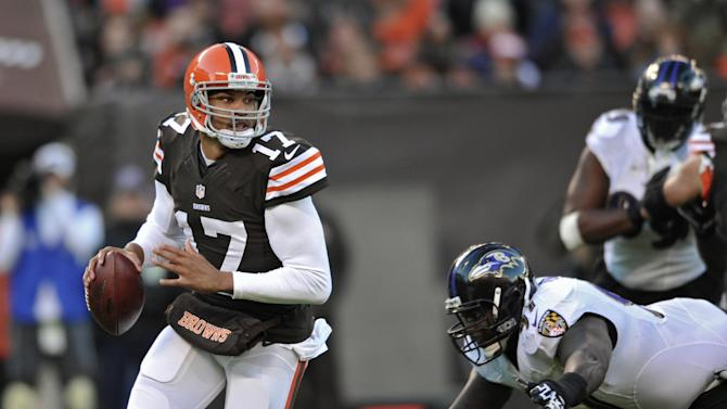 Browns QB Jason Campbell back in spotlight