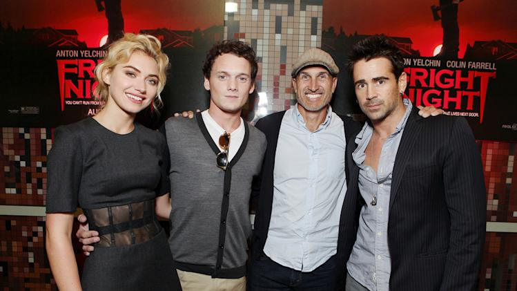 Fright Night Fan Event at Comic Con 2011 Imogen Poots Anton Yelchin Craig Gillespie Colin Farrell