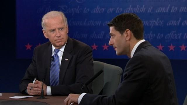 Joe Biden, Paul Ryan Spar on Medicare, Social Security