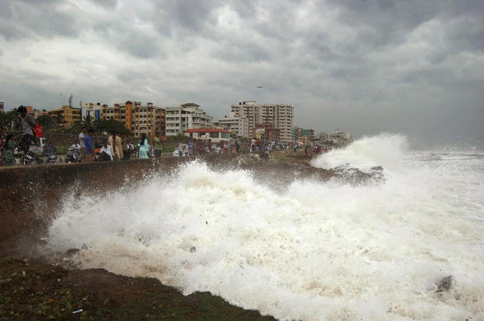Cyclone Hits Odisha.