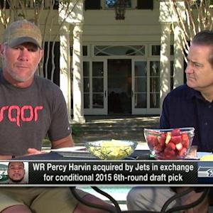 Brett Favre on Percy Harvin: He's all about winning