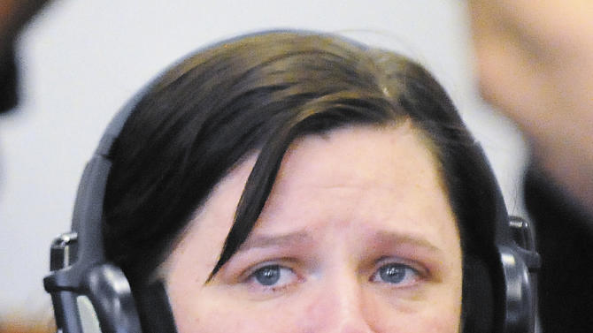 FILE - Kathy Coy, of Morgantown, Ky., shown in this April 19, 2011 file photo, pleaded guilty but mentally ill Friday, Feb. 17, 2012, in Warren Circuit Court to killing Jamie Stice, an expectant mother, and taking her baby last year. Coy is scheduled for sentencing in Bowling Green Thursday, March 1, 2012. She agreed to a sentence of life in prison last month when she admitted to using a stun gun, then attacking 21-year-old Jamie Stice last year in an effort to take her baby. (AP Photo/Daily News, Miranda Pederson, File)