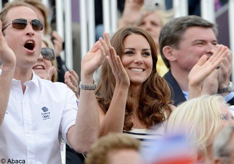 Kate Middleton, David Beckham, des supporters de choc aux Jeux olympiques !