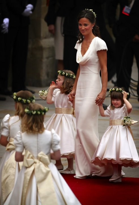 In Sarah Burton for Alexander McQueen, the Royal Wedding