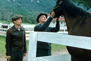 Tobey Maguire and Chris Cooper in Universal's Seabiscuit