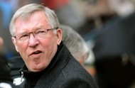 Manchester United&#39;s Scottish manager Sir Alex Ferguson takes his seat before the English Premier League match against Sunderland at The Stadium of Light in Sunderland. United won the game 1-0, but Manchester City were crowned Premier League champions after an incredible fightback which saw them score twice in injury time to beat QPR 3-2