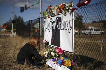 Oregon attorney general visits town shaken by college massacre
