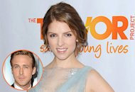 Anna Kendrick (Ryan Gosling, inset) | Photo Credits: AA/Splash News; Steve Granitz/WireImage.com
