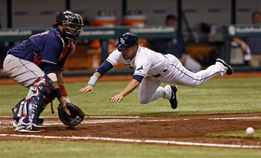 Moore, Zobrist lead Rays over Indians 4-0