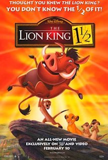 Poster of The Lion King 1 1/2