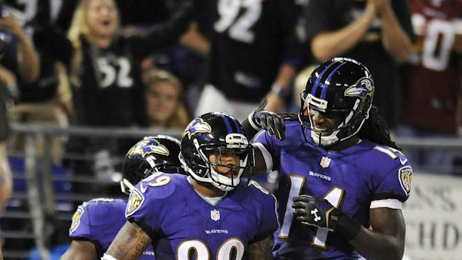 Steve Smith brings leadership and talent to Ravens