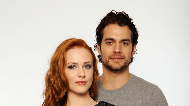 8th Annual Tribeca Film Festival Portraits 2009 Evan Rachel Wood Henry Cavill