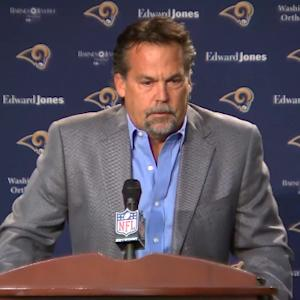 St. Louis Rams head coach Jeff Fisher: 'It was a football decision'